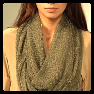 Accessories - Club Monaco multi style metallic scarf